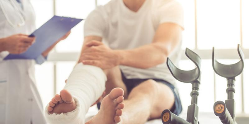 personal injury - broken bones